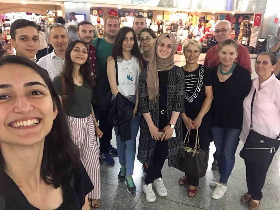 Gençlerimizi Osetya'ya Yolcu Ettik.