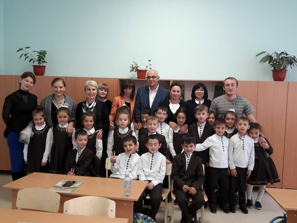 Kuzey Osetya - Alania İlkokul Açılışı