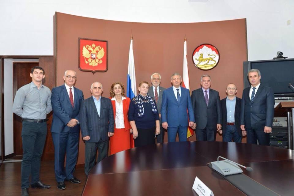 Kuzey Osetya-Alanya Cumhurbaşkanı Ziyareti