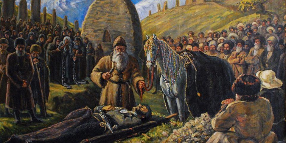 Atın Ölene Adanması Töreni Бæх фæлдисын / Bex Feldişın