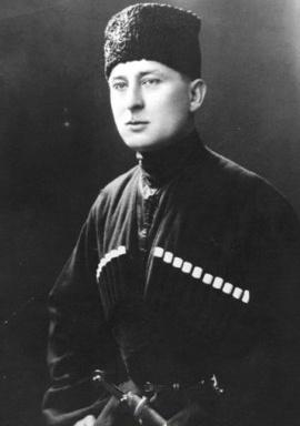 Alihan Kantemir / Кантемирты Алихан (1886-1963)