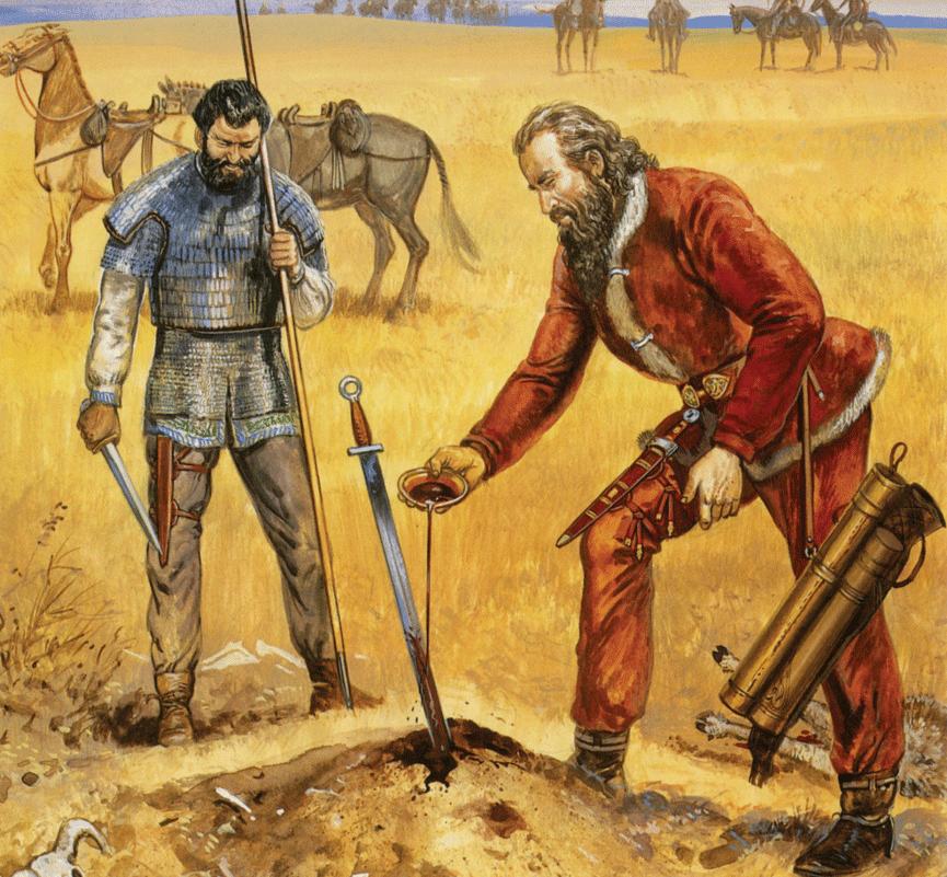 Avrupa'da Sarmat-Alan İzleri; Kral Arthur ve Şövalyeleri Hakkında -I-