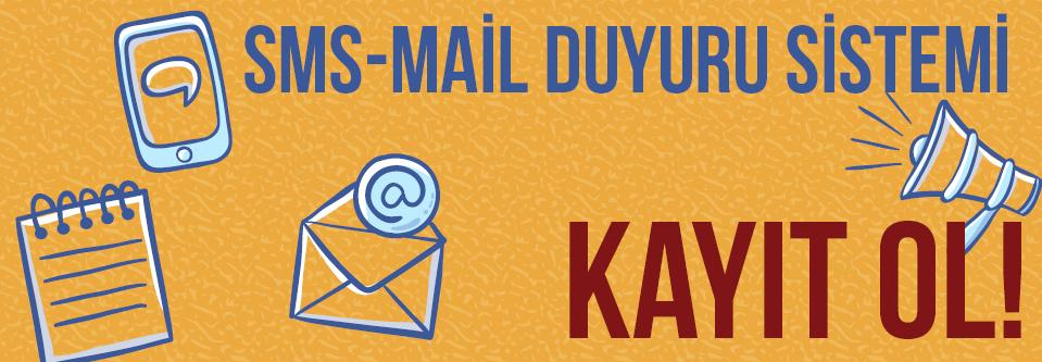 Sms-Mail Duyuru Sistemi